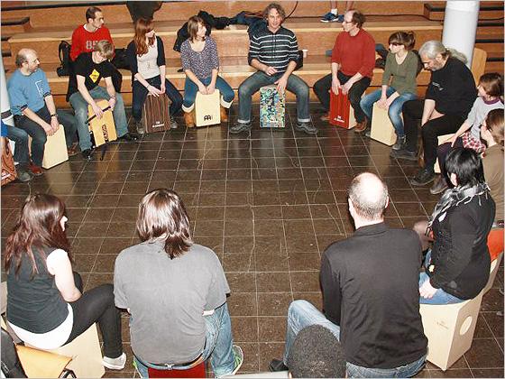 cajones unterricht frankfurt